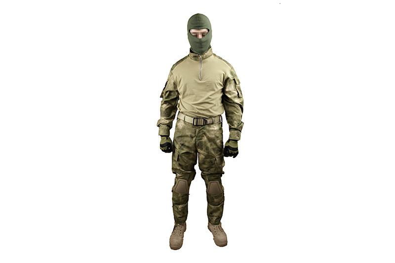 Specna Arms Combat uniform M ATACS-FG (combatshirt och byxor med knäskydd Stl. M)