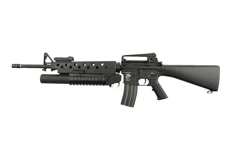 Specna Arms SA-G02 ONE™ Carbine med granatkastare - Svart