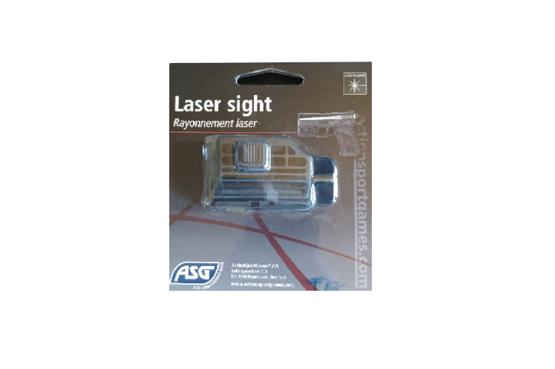 ASG lasersikte rail