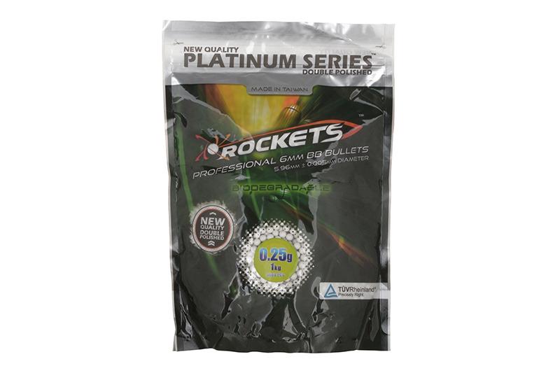 Gunfire 0.25g Rockets platinum 1kg