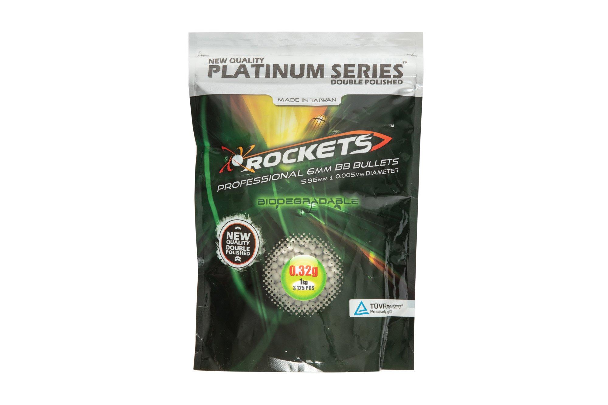 Gunfire 0,32g Rockets Platinum 1kg