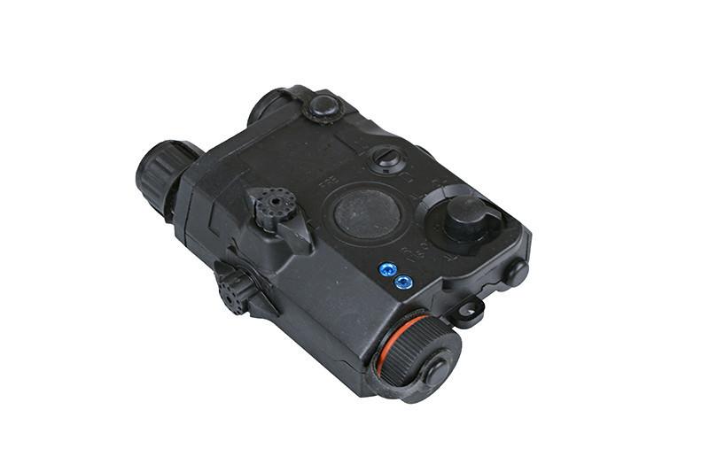 FMA PEQ-box (batterilåda) med röd laser svart