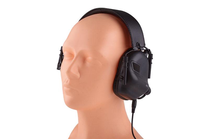 Earmor M31 aktiva hörselskydd svart