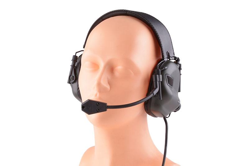 Earmor M32 aktiva hörselskydd med mikrofon OD