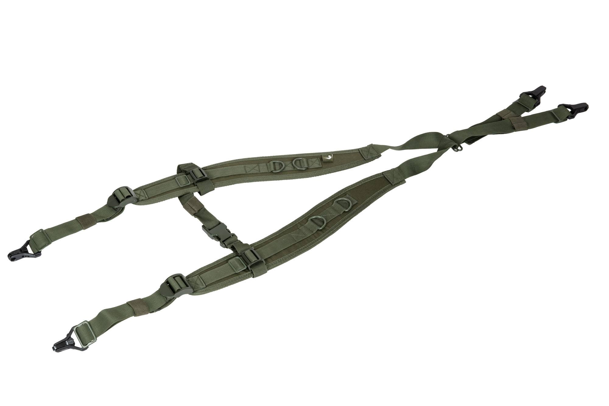 Viper 4-punkt LH harness - Olive