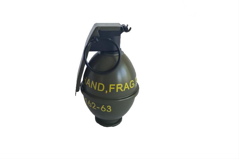 Army M26 granatformad gascontainer