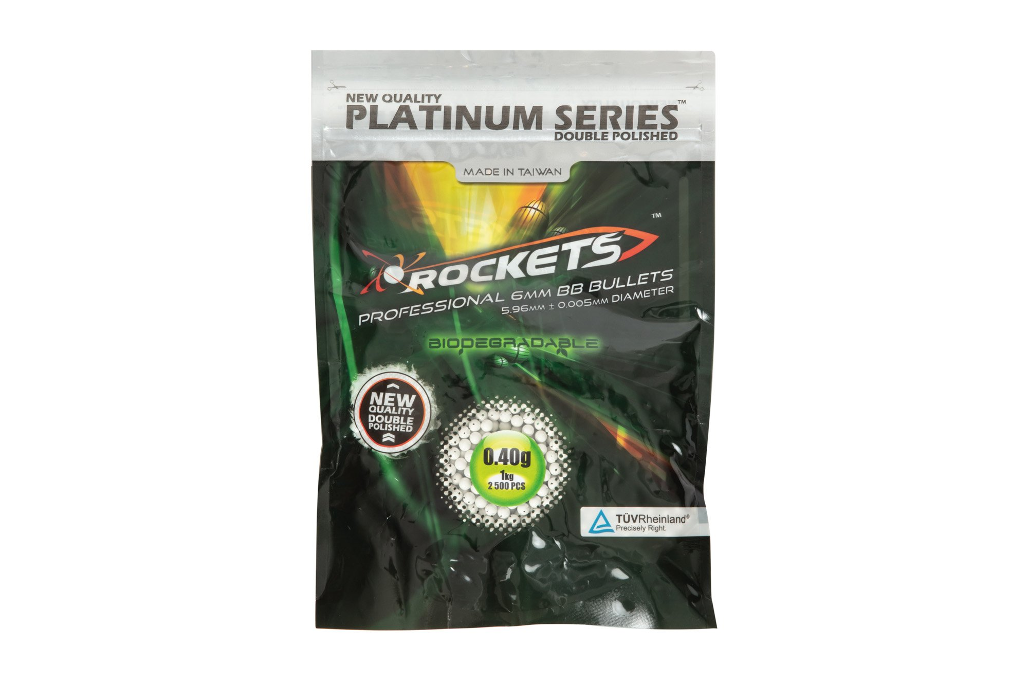 Gunfire 0,40g Rockets Platinum 1 kg