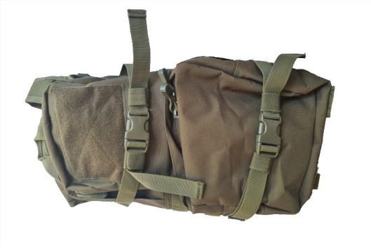 GFC Backpack med extra ficka till vatten OD