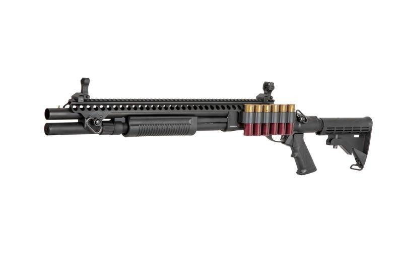 GE 8874 Tactical Shotgun - gas - svart