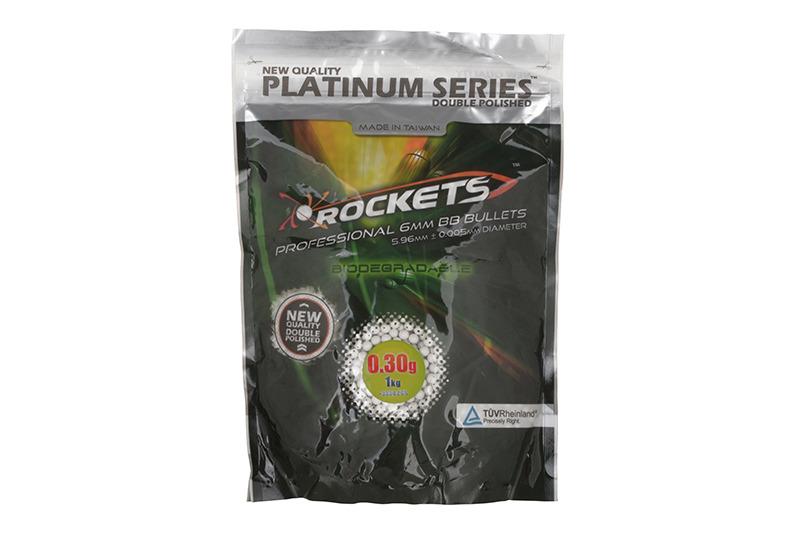 Gunfire 0,30g Rockets Platinum 1kg