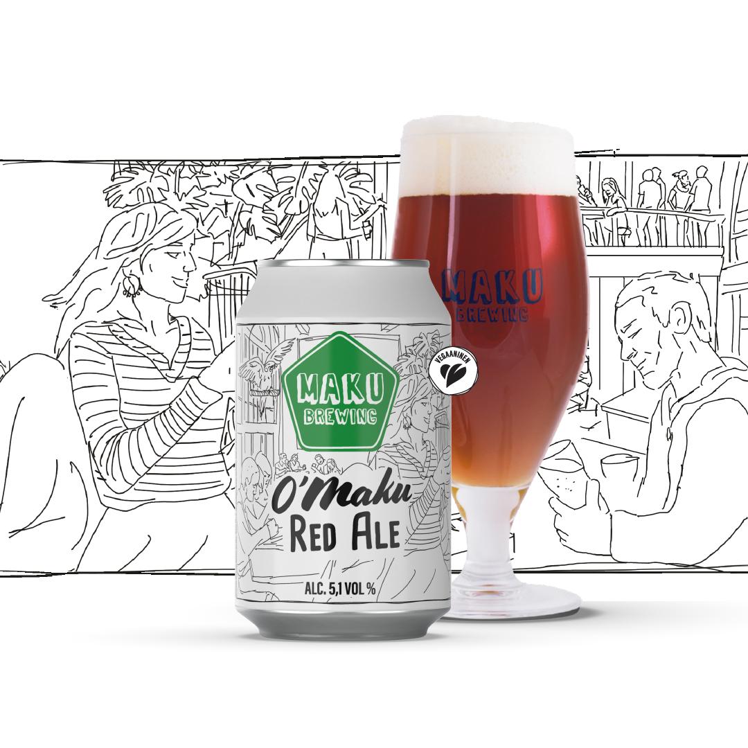 O'Maku Irish Red Ale 5,1% / 0,33l