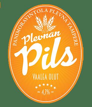 Panimoravintola Plevan Pils 4,7% / 0,33l
