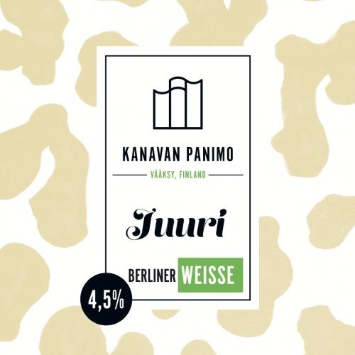 Kanavan Panimo Juuri Berliner Weisse 4,5% / 0,33l