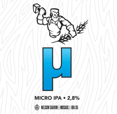 Mallassepät μ Micro IPA 2,8% / 0,33l