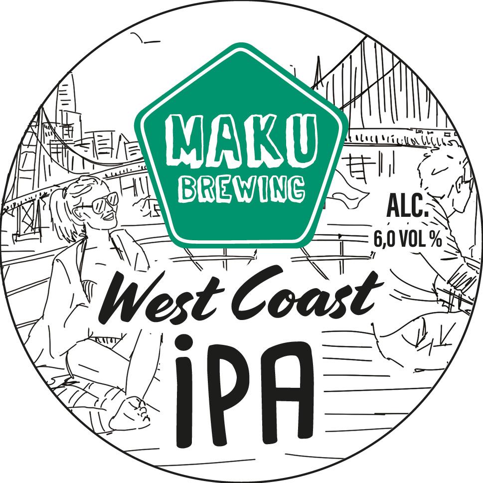 West Coast IPA 6,0% 30l keg (G)