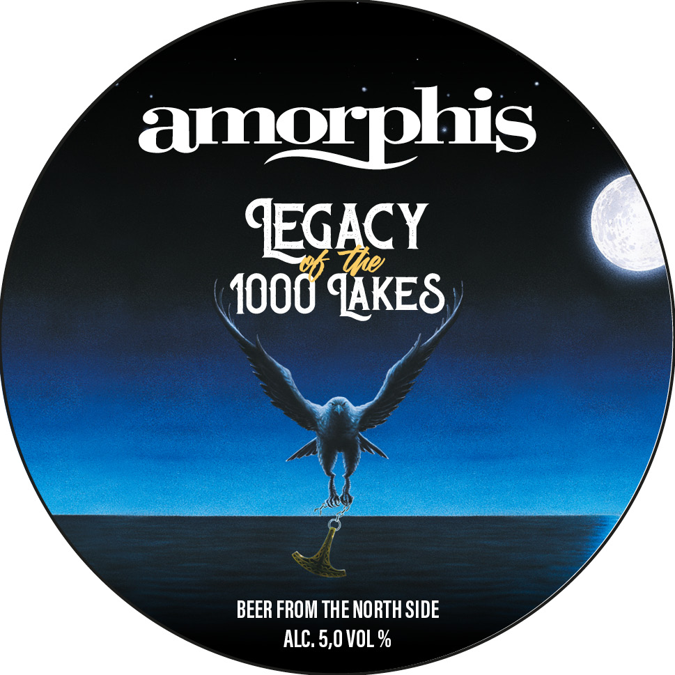 Amorphis Legacy of the 1000 Lakes 5,0% 30l keg (G)