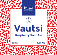 Kakola Brewing Company Vautsi Raspberry Sour Ale 3,5% / 0,33l