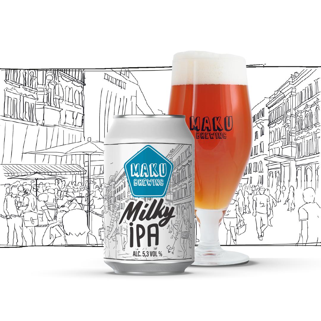 Milky IPA 5,3% / 0,33l