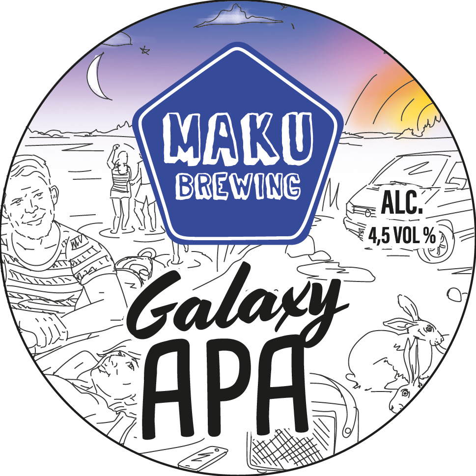 Galaxy APA 4,5% 30l keg