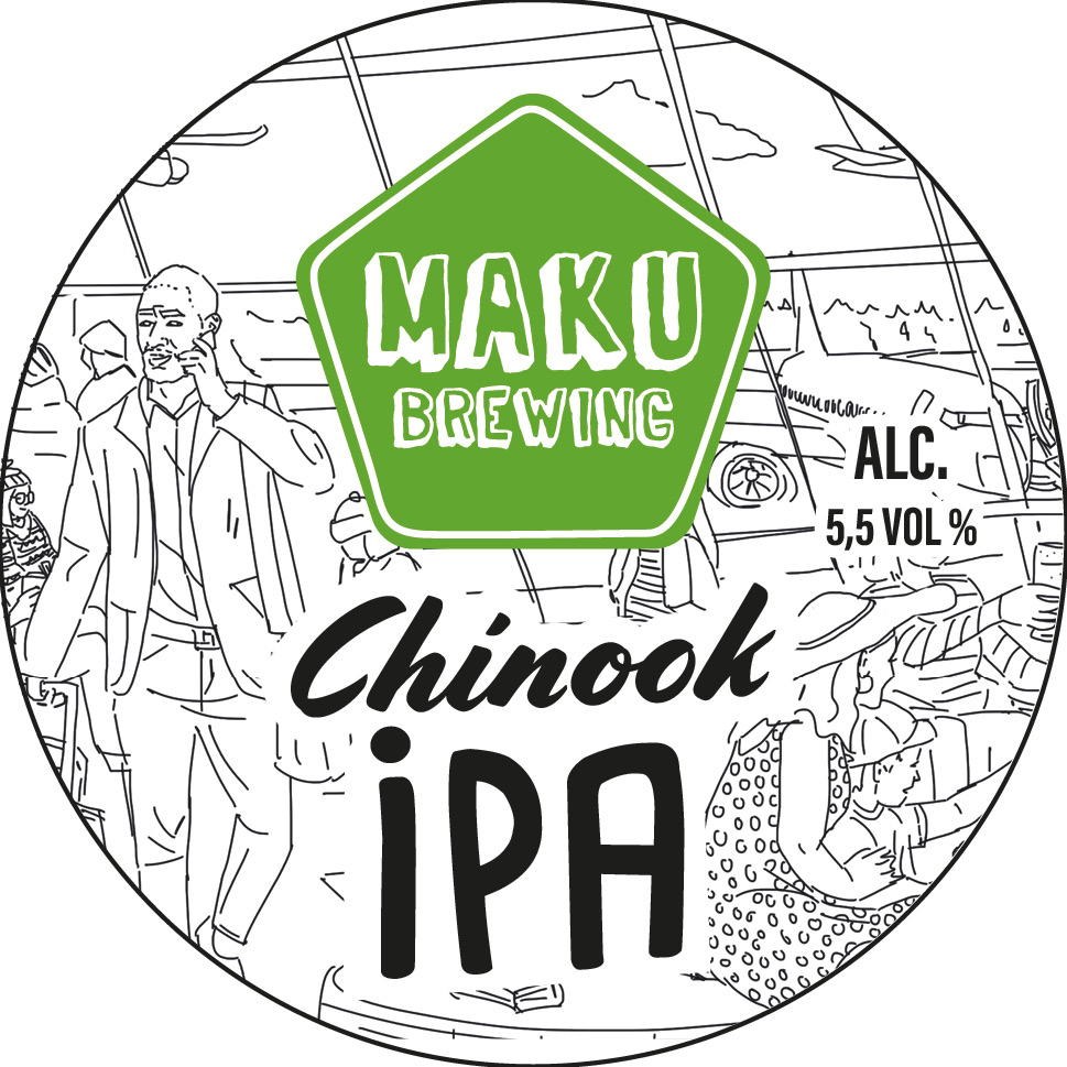 Chinook IPA 5,5% 30l keg (G)