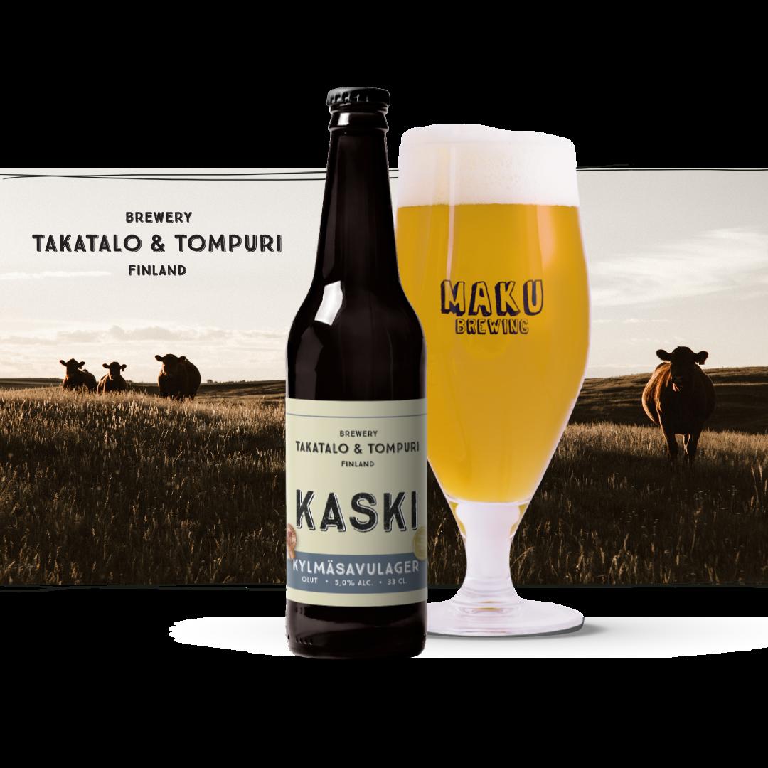 Takatalo & Tompuri Kylmäsavulager 5,0% 0,33l