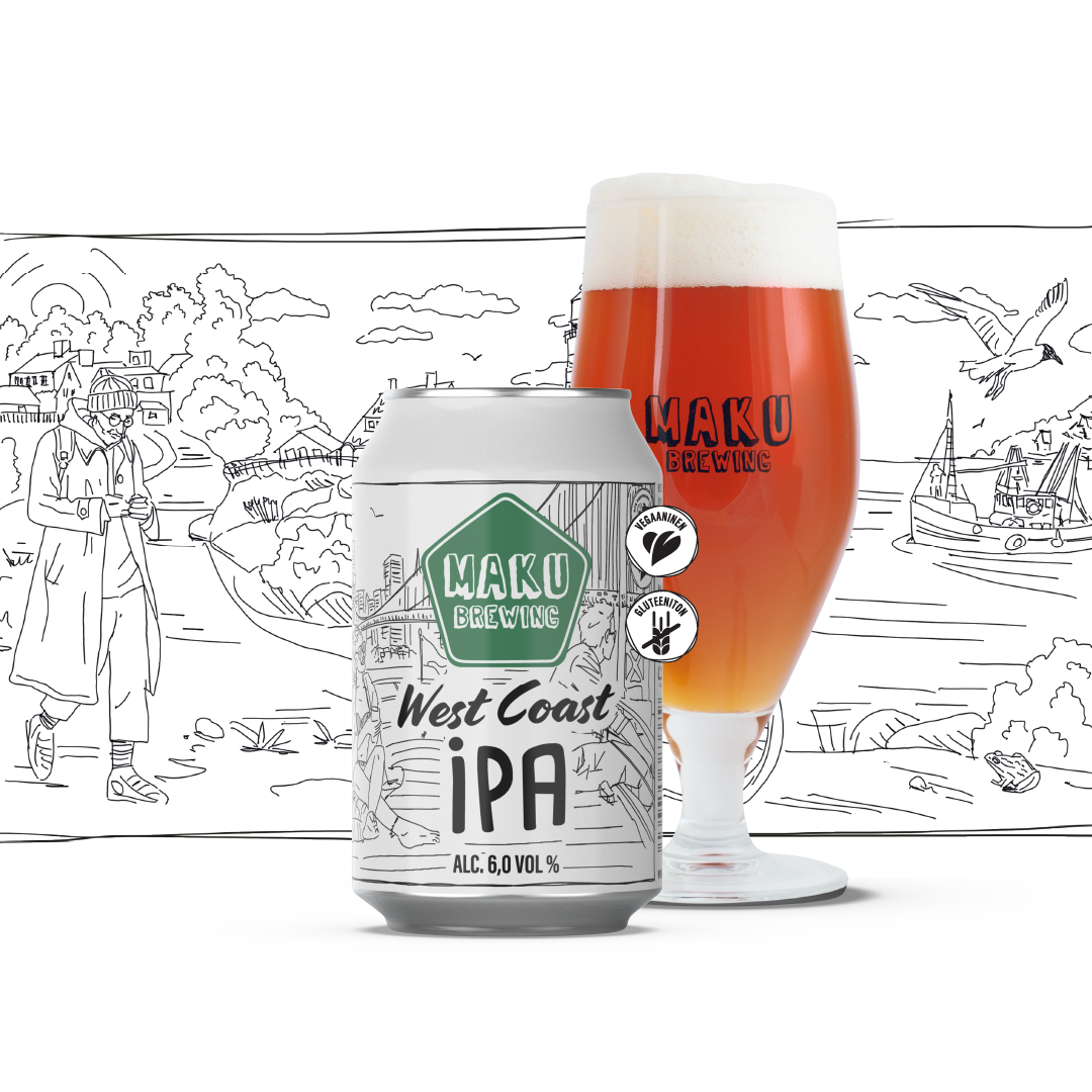 West Coast IPA 6,0% / 0,33l (G)