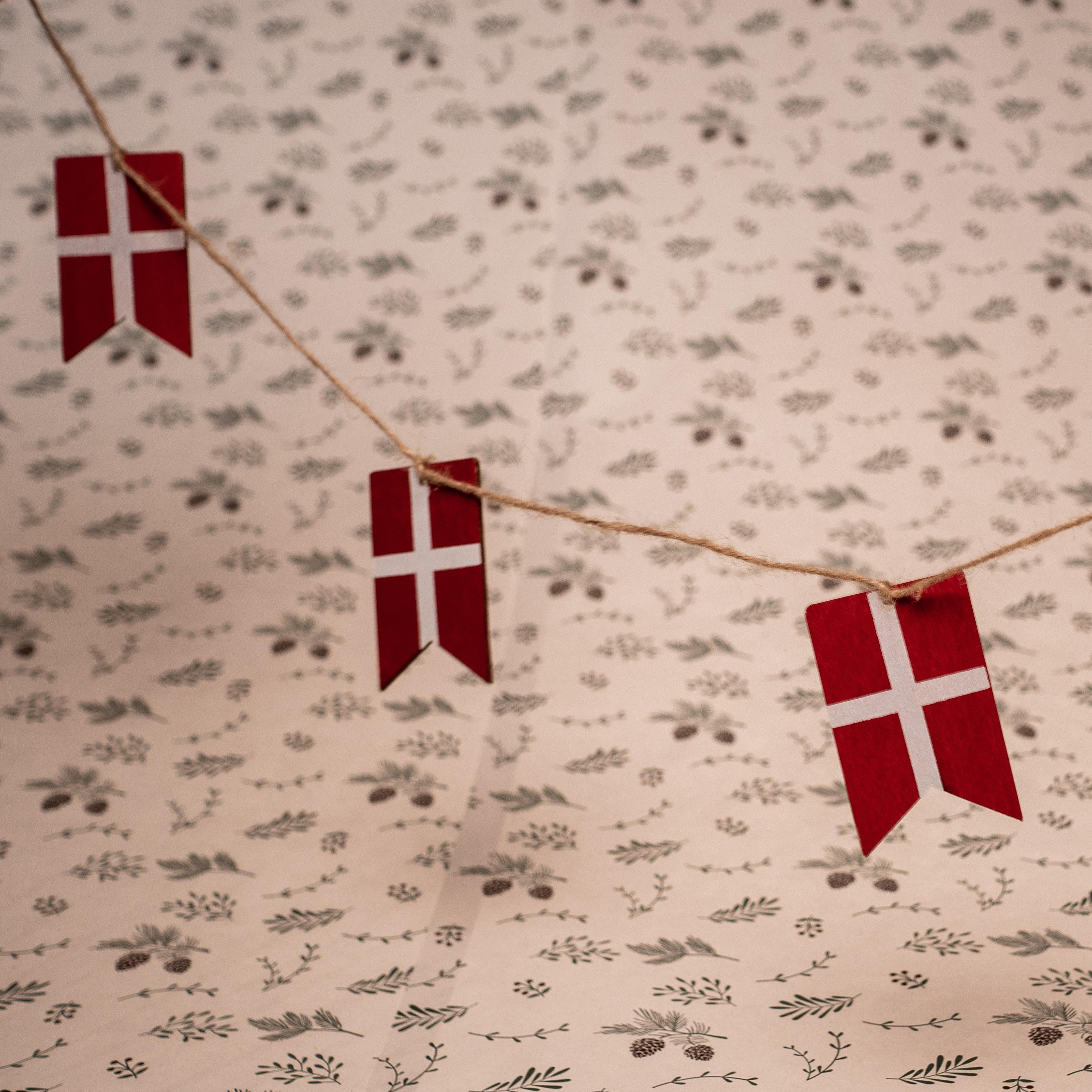 Tinsel flag Dk
