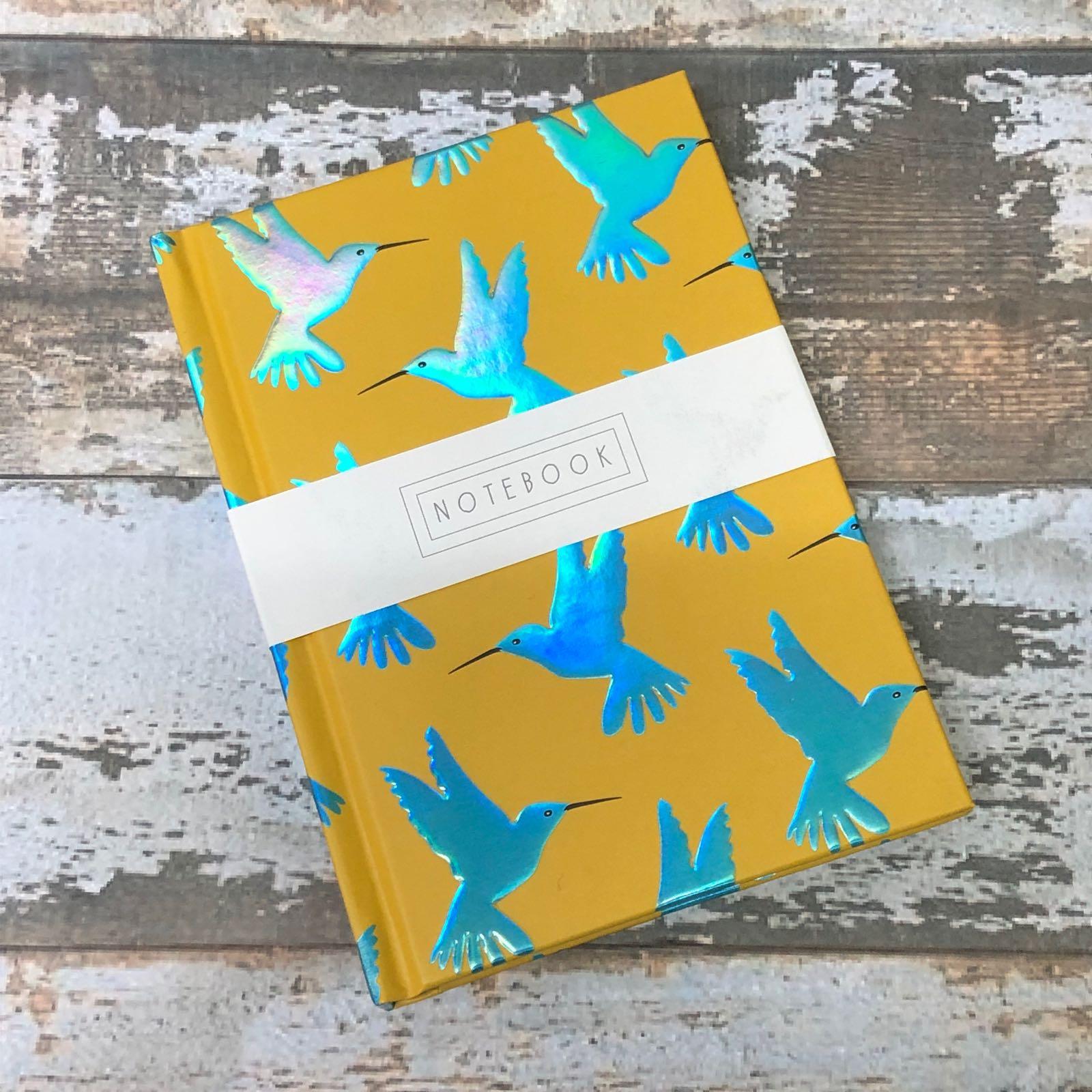 Hummingbird  A6 notebook