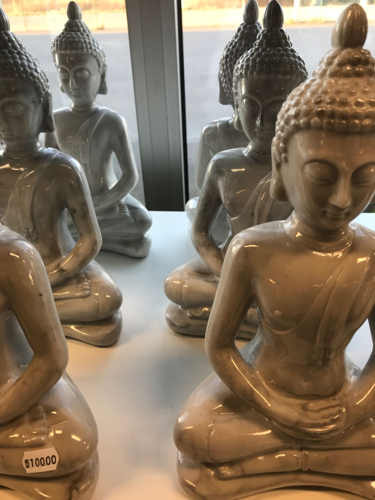 Budda grå Victoria design