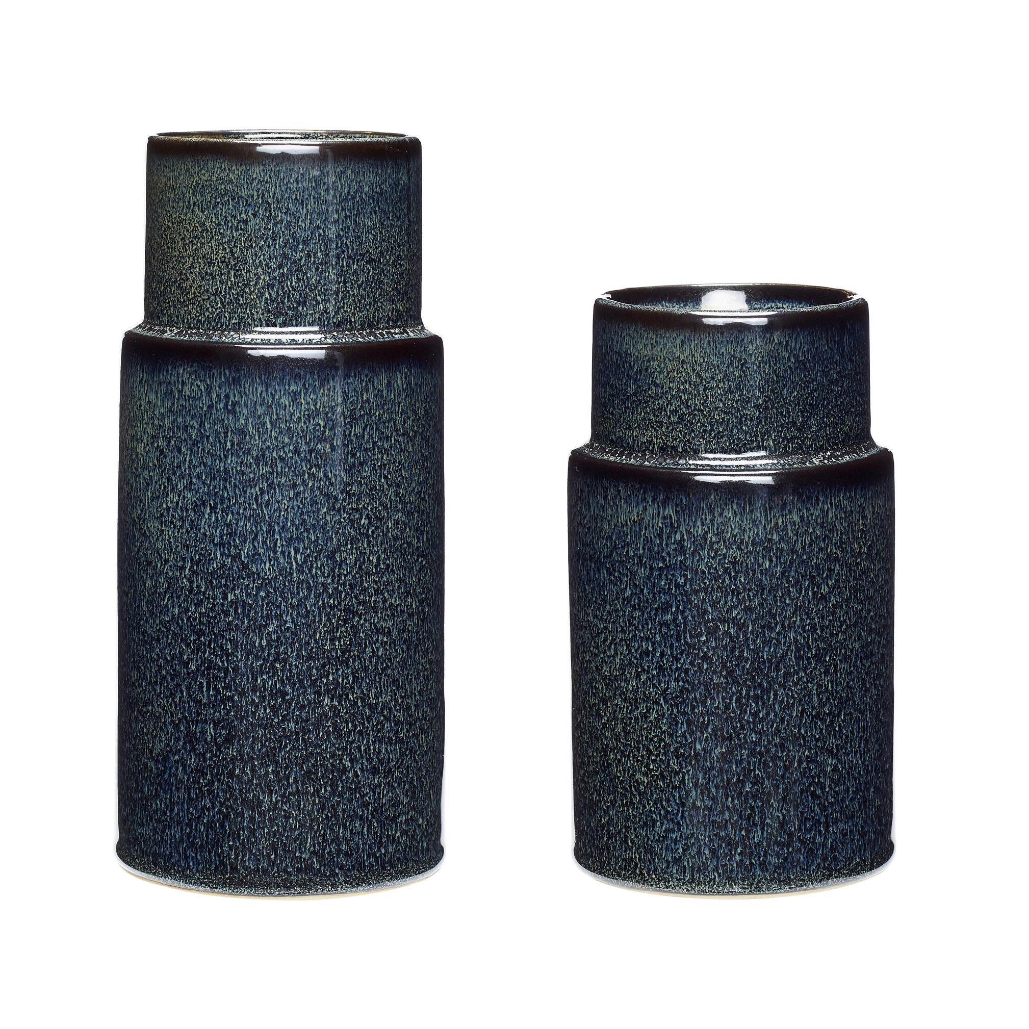 Hubsch Blue Vase