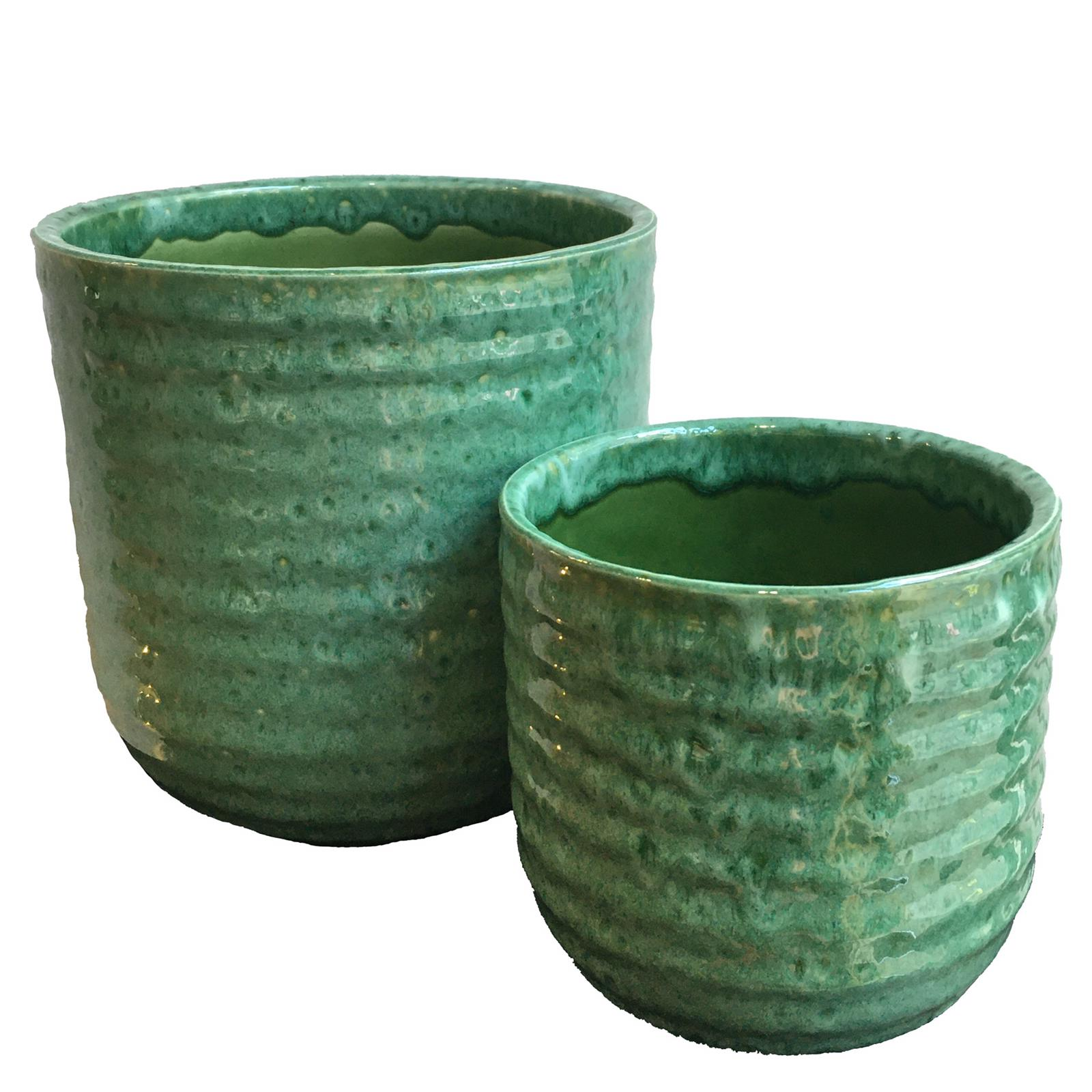 Emerald Reactive Glaze