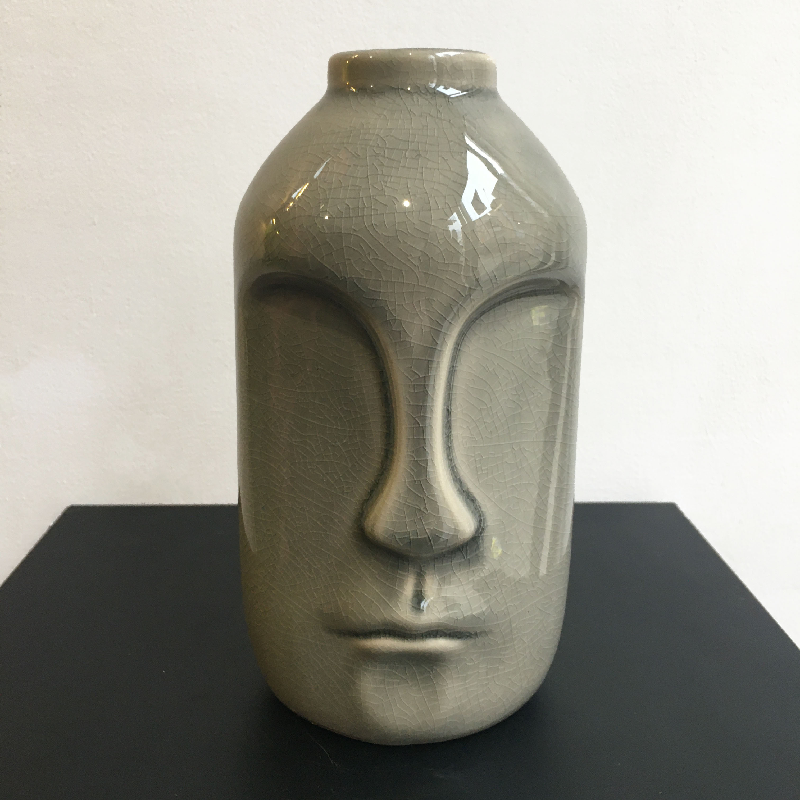 Handmade Vase with Face