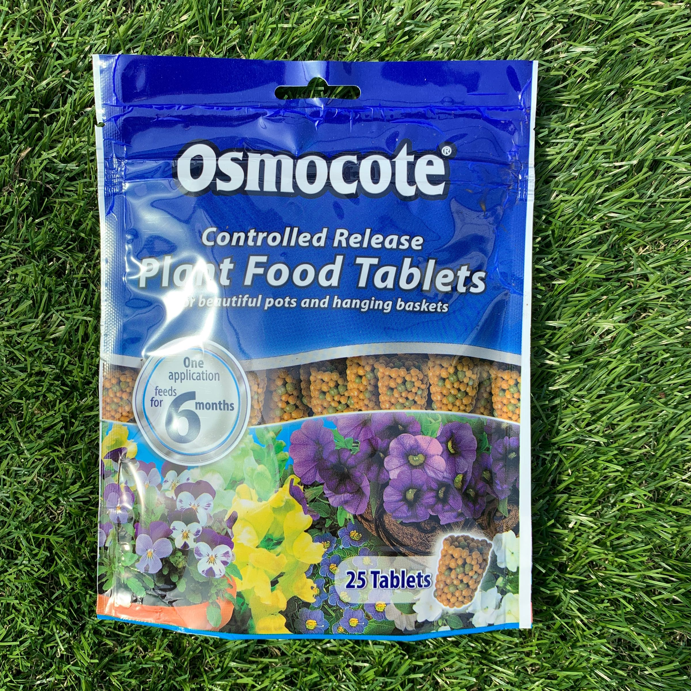 Osmocote Slow Release Plant Food Tablets - 25 tablets