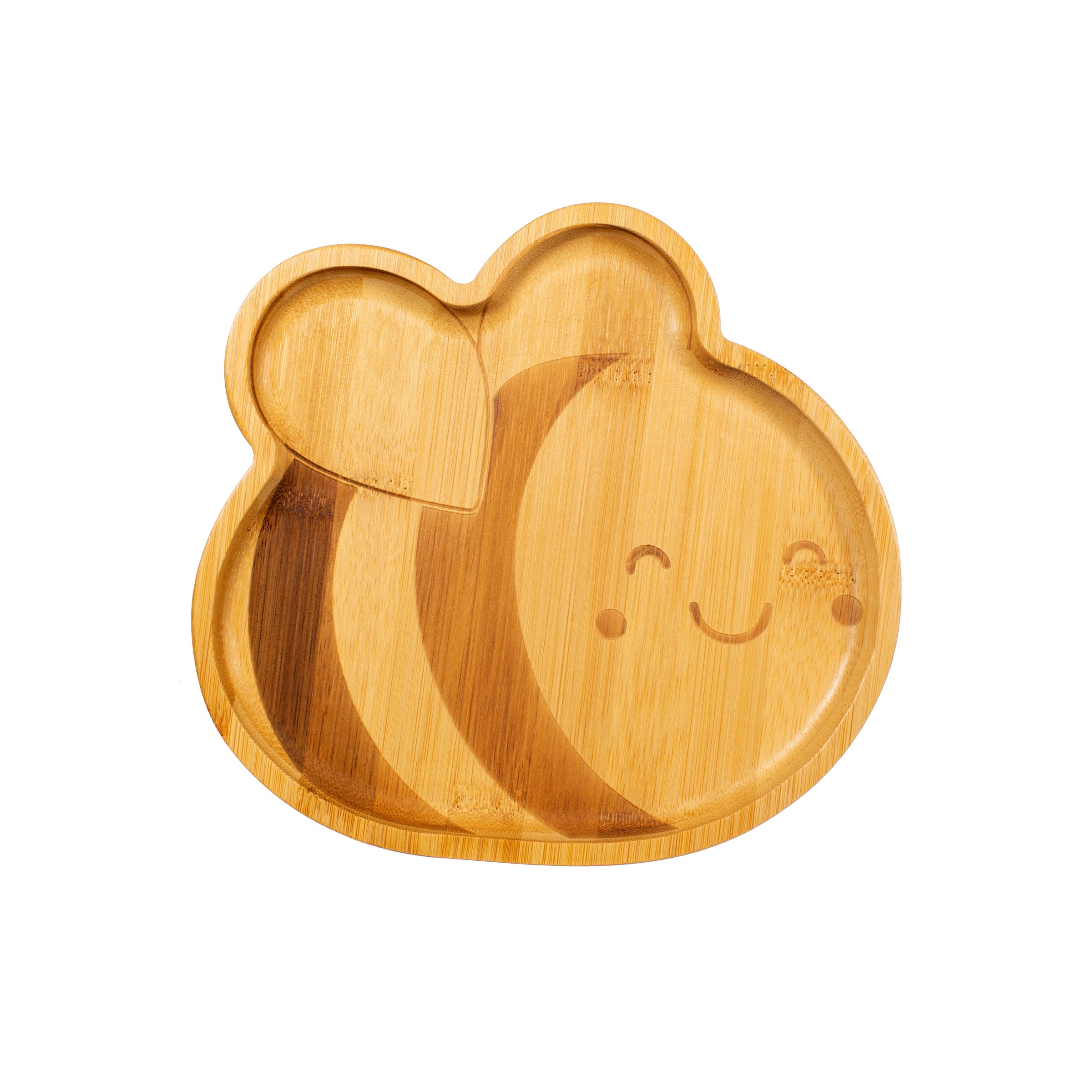 Bamboo bee plate by sass & belle