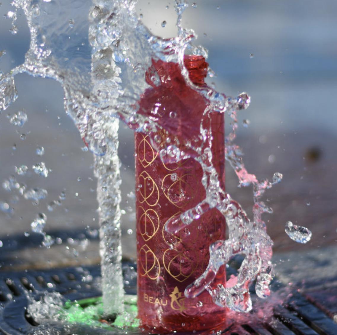 ORCHID DRINKS BOTTLE 500ML. BEAU & ELLIOT