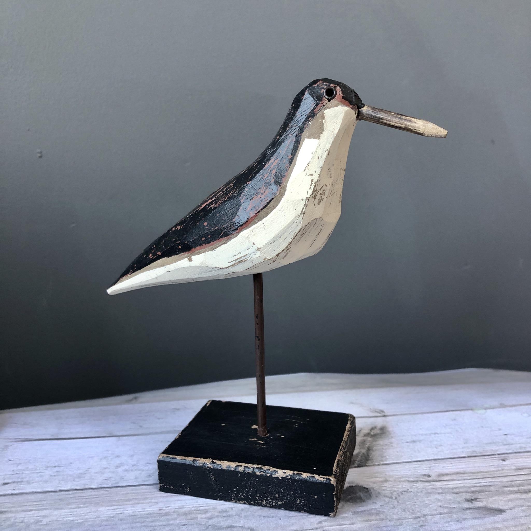 Dunlin sculpture bird ornament (small) By shoeless joe