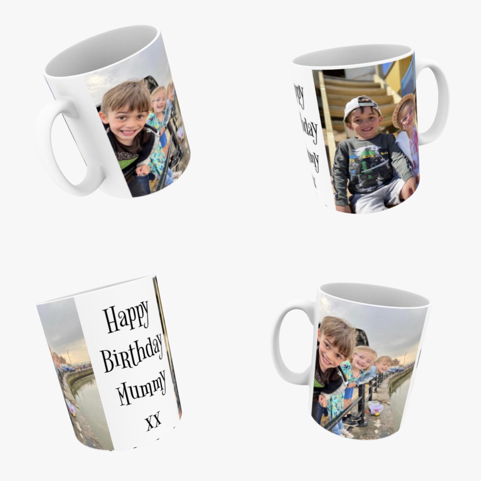 Your photo on a mug. Personalised photograph ceramic mug
