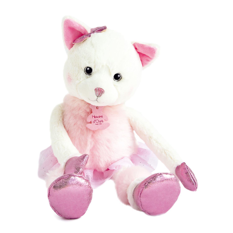 Misty cat soft toy Les petites twist by doudou et compagnie.