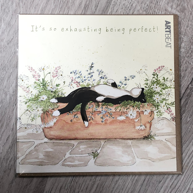 Card - being perfect