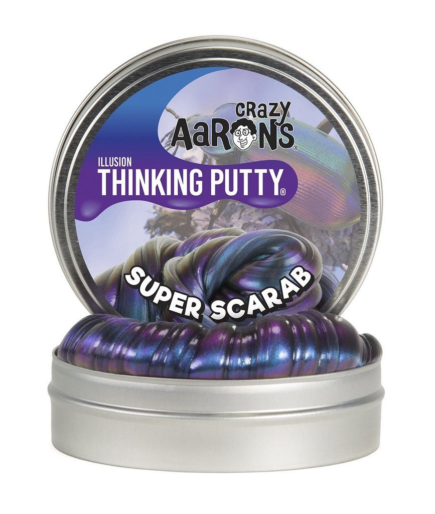 Crazy Aaron Super Scarab Illusions thinking putty