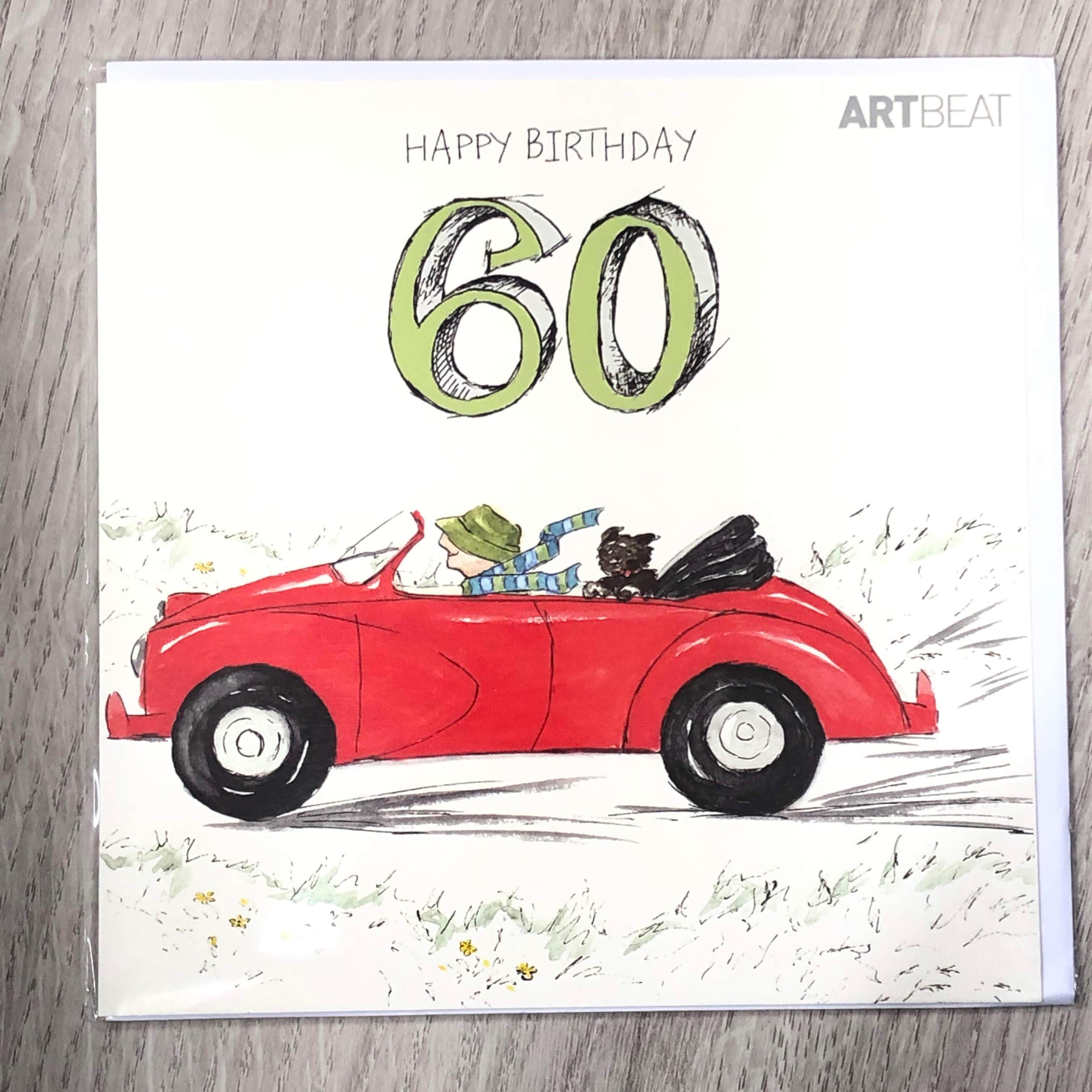 60th Birthday card. Whiz kid