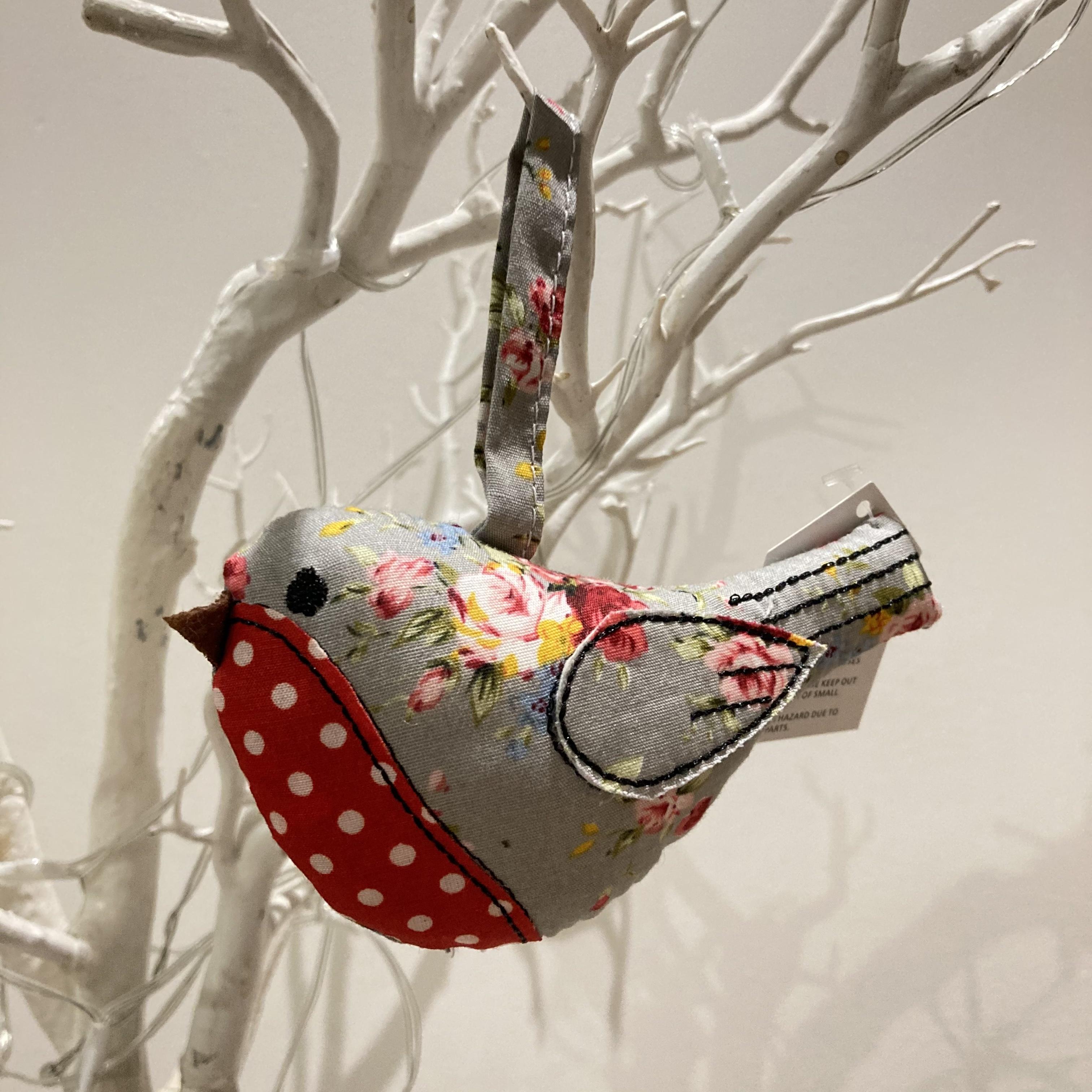 Fabric Robin decoration