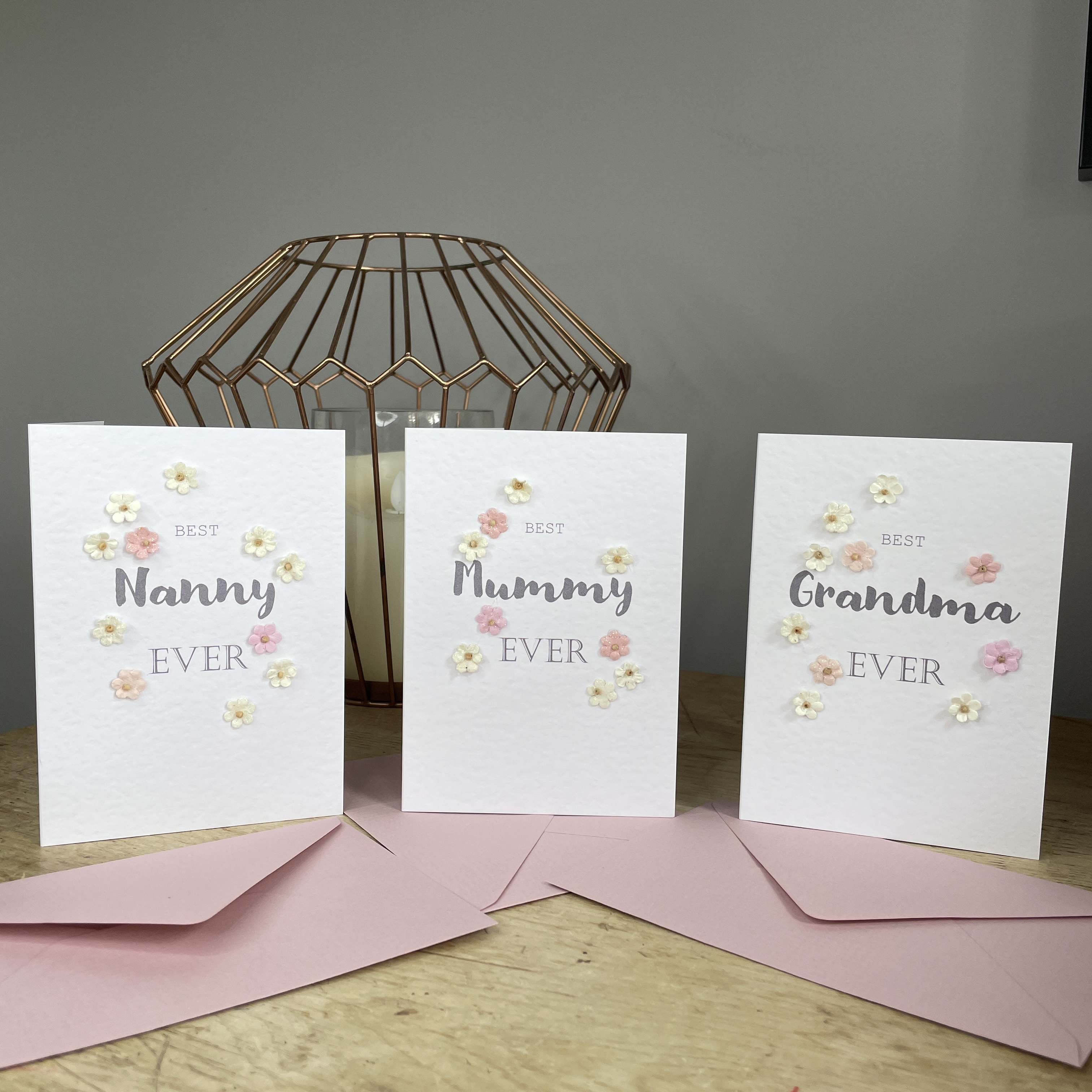 Best Mummy, Nanny, Grandma ever Mother's Day card
