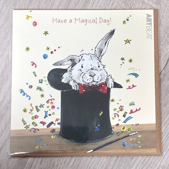 Birthday card - magical day