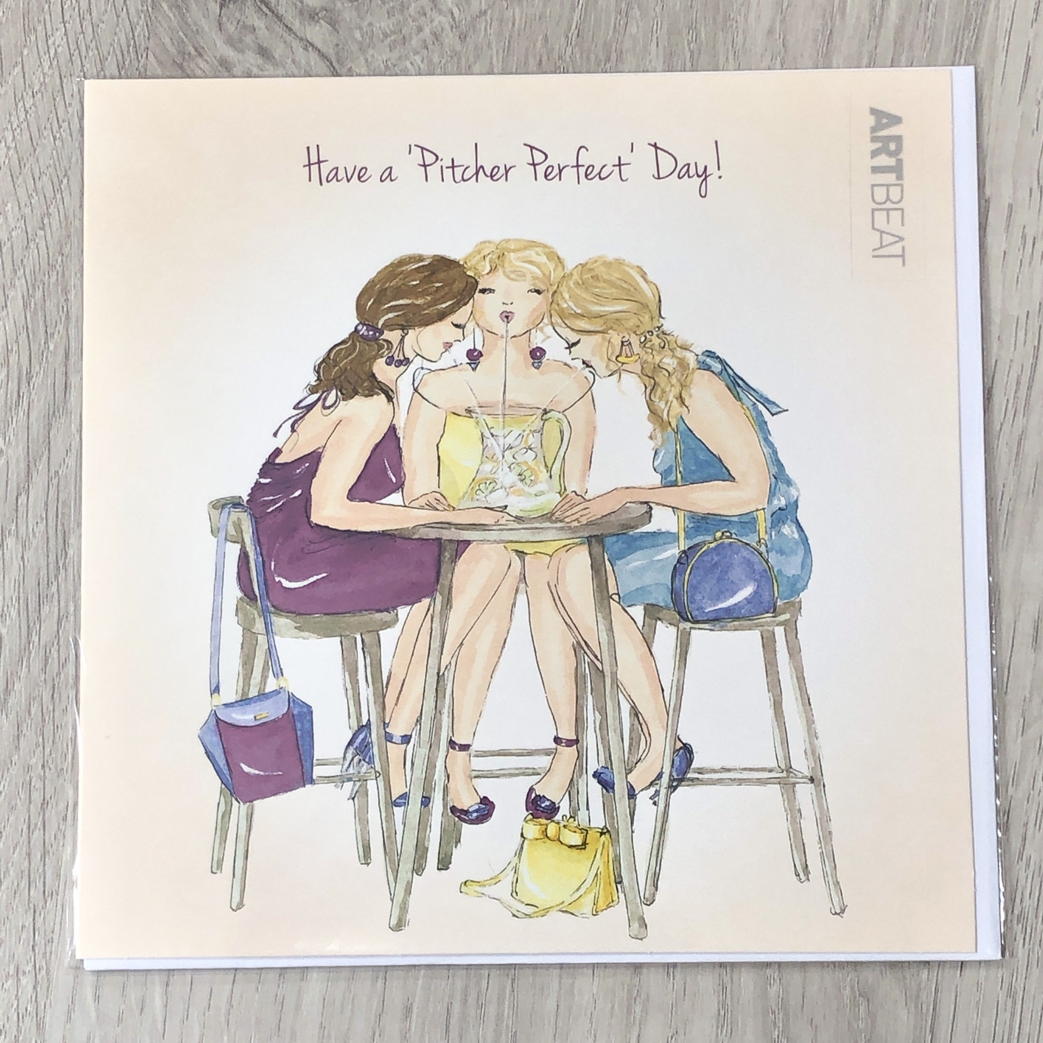 Birthday card- Have a pitcher perfect day!