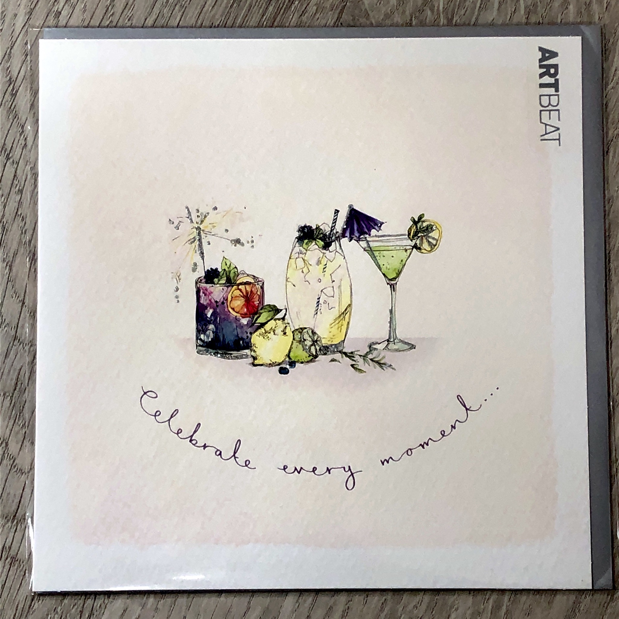 Birthday card- celebrate every moment