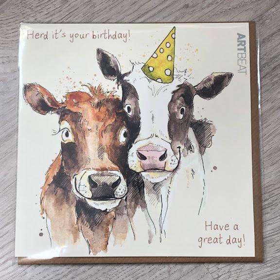 Birthday Card - Herd its your birthday