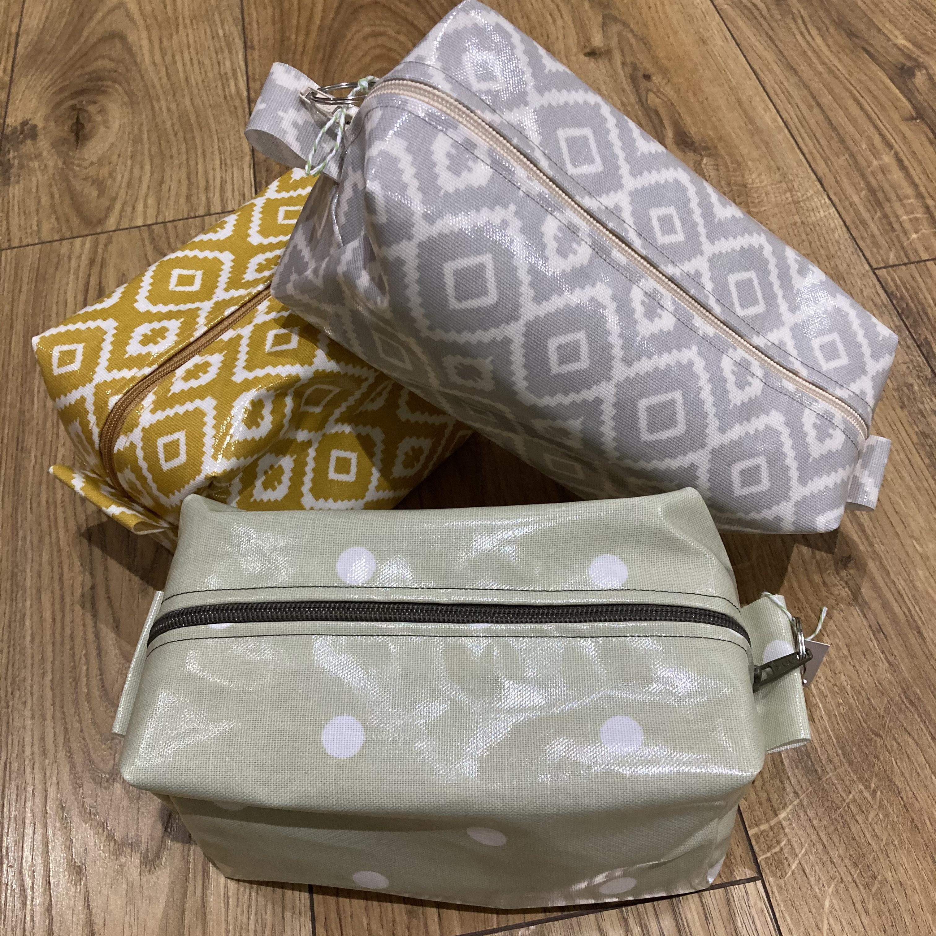 Vinyl pouch / washbag by Stella's Stitchcraft - various designs