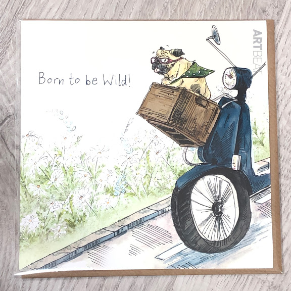 Card - born to be wild!