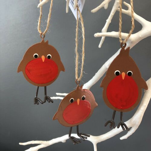 Cheeky robins Christmas tree decoration by shoeless joe